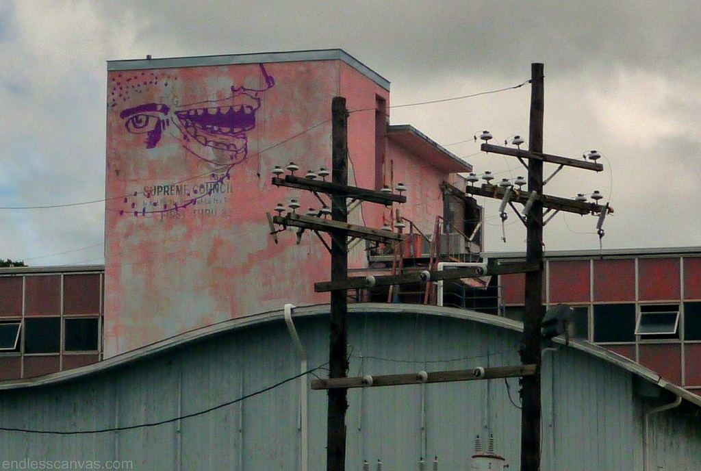 Tard Graffiti.