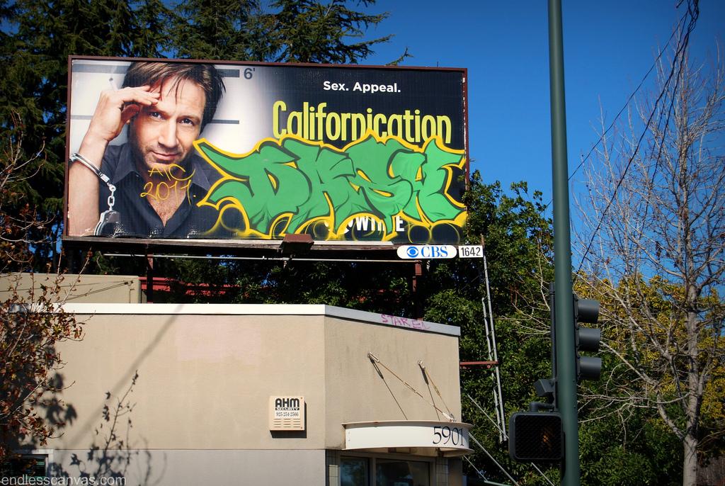 Dask Graffiti Billboard.