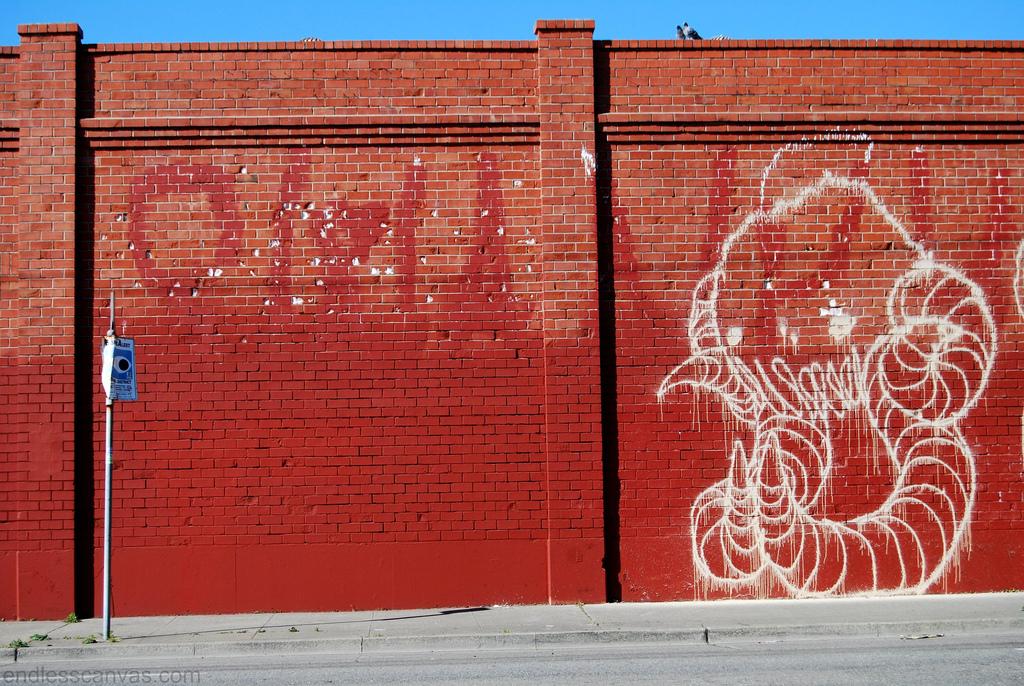 Swampy Graffiti.