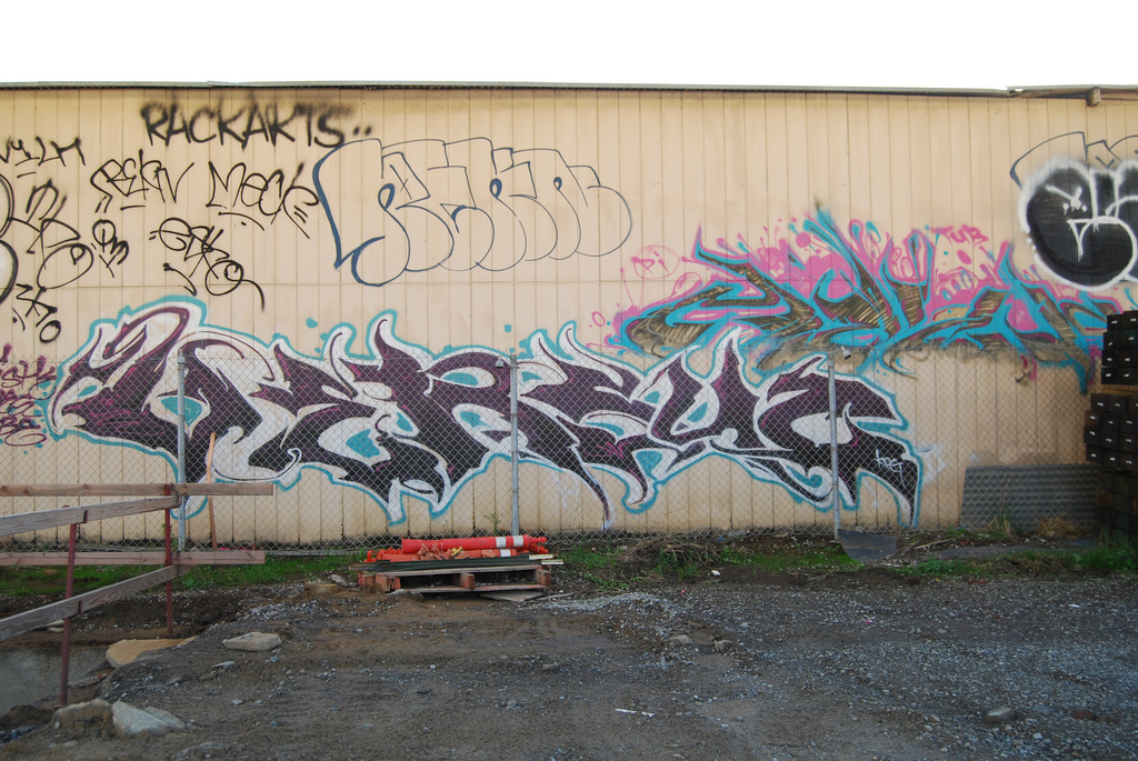 Versuz Meck Rekn Graffiti Bay Area.