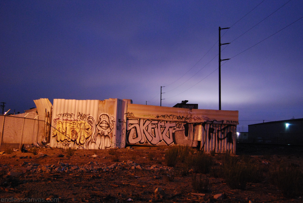 Sate Skert Jolts Graffiti East Bay California.