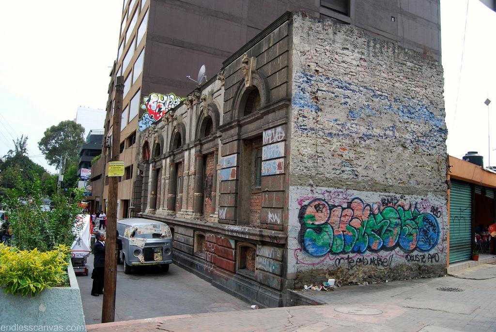 Distrito Federal Mexico City Graffiti.