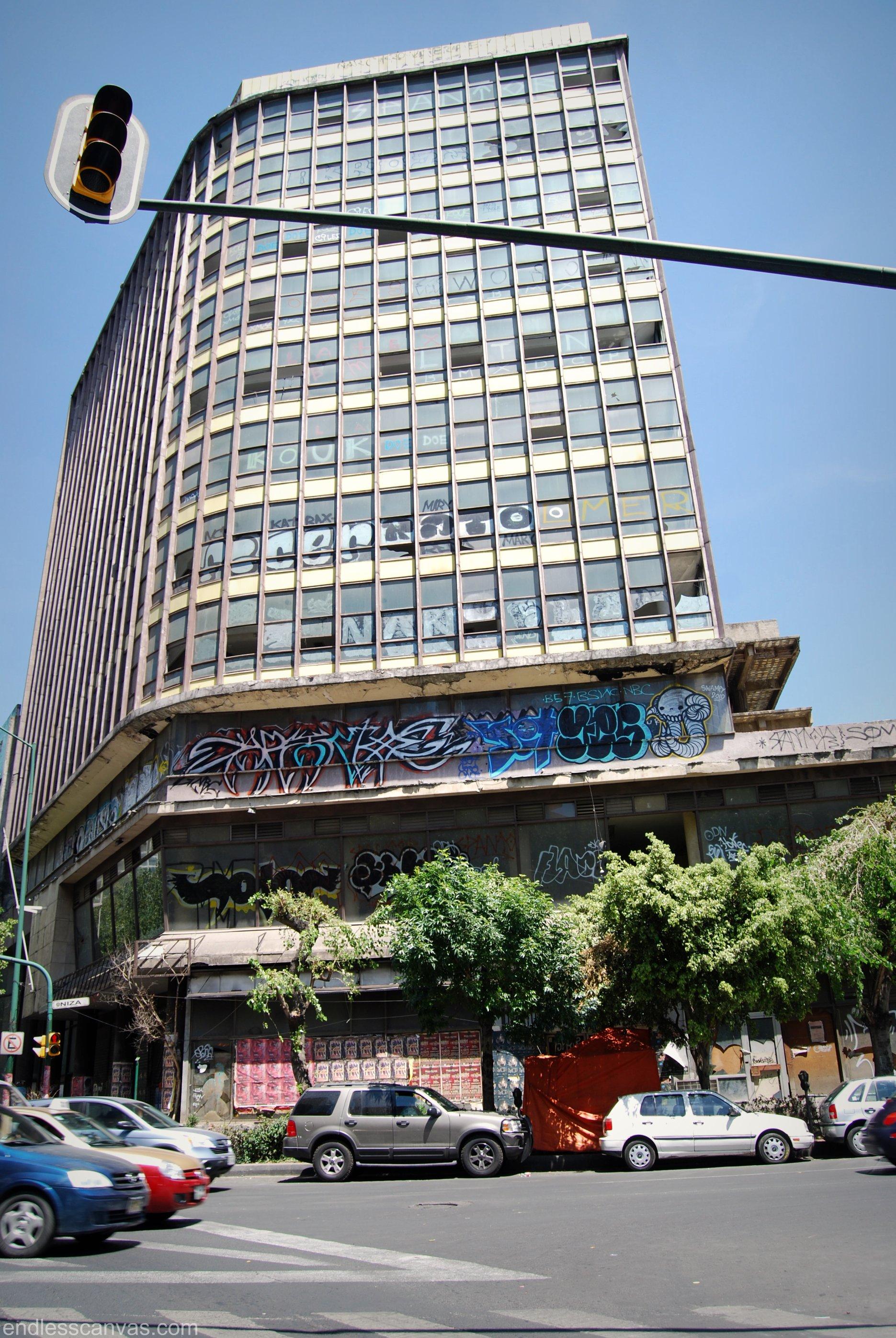 Swampy graffiti Mexico City Distrito Federal.