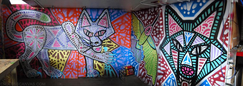 Coyote Graffiti.