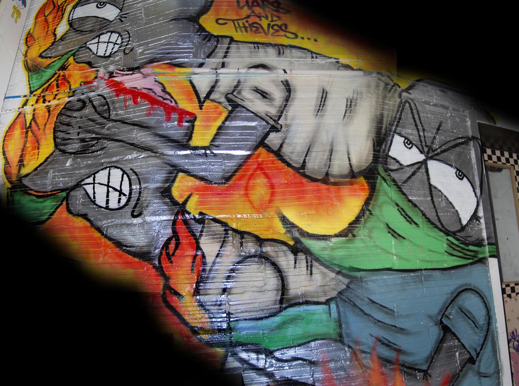 Logo Graffiti Art Show Portland.