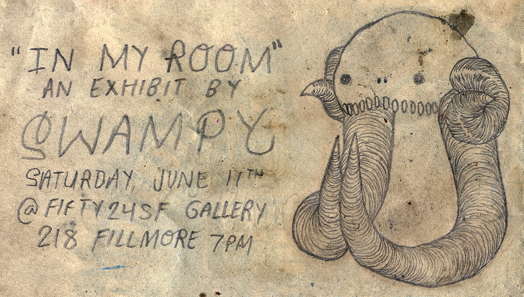 Swampy Graffiti Art Show.