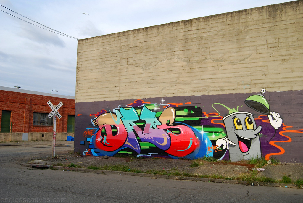 DABS Graffiti Piece