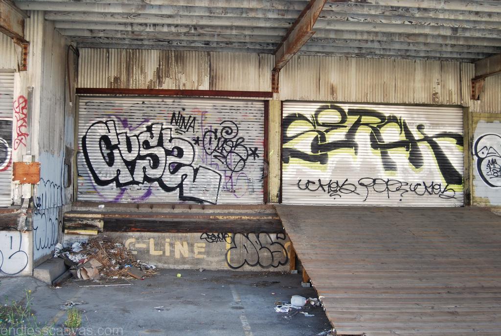 CUSS, SERCH Graffiti.