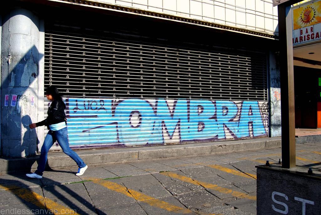 Zombra Graffiti Mexico City Distrito Federal.