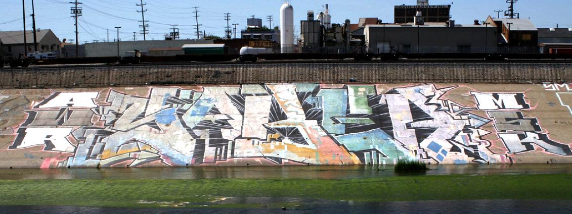 Sabers LA River Piece.