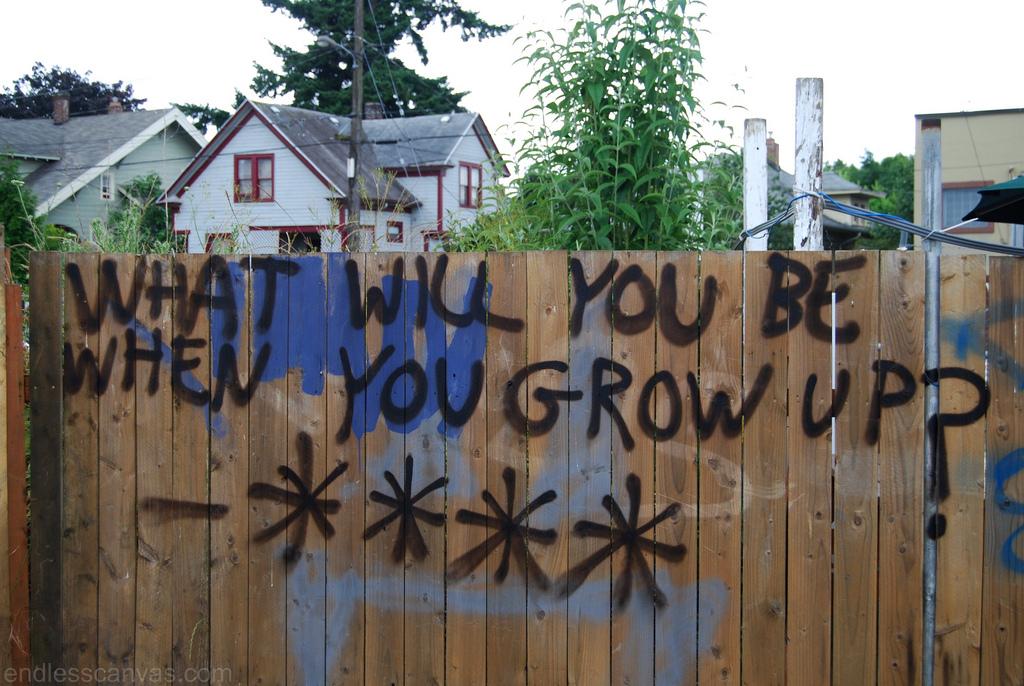 Portland Graffiti.