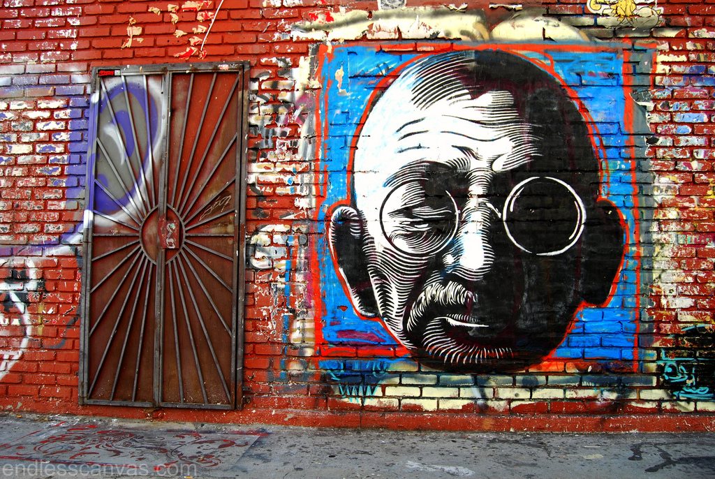 Cryptik Street Art Los Angeles.