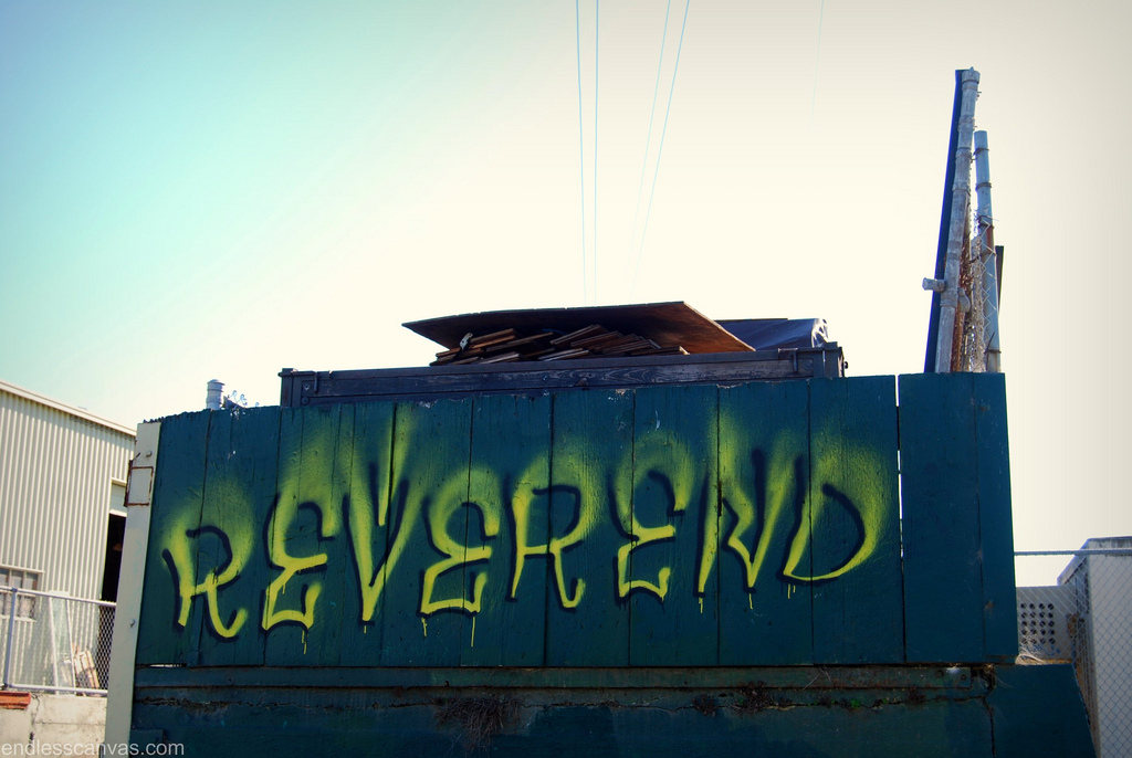 Reverend Graffiti.