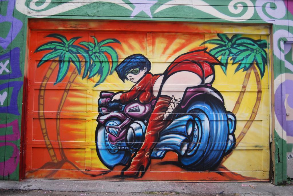 Mark Bode Mural.