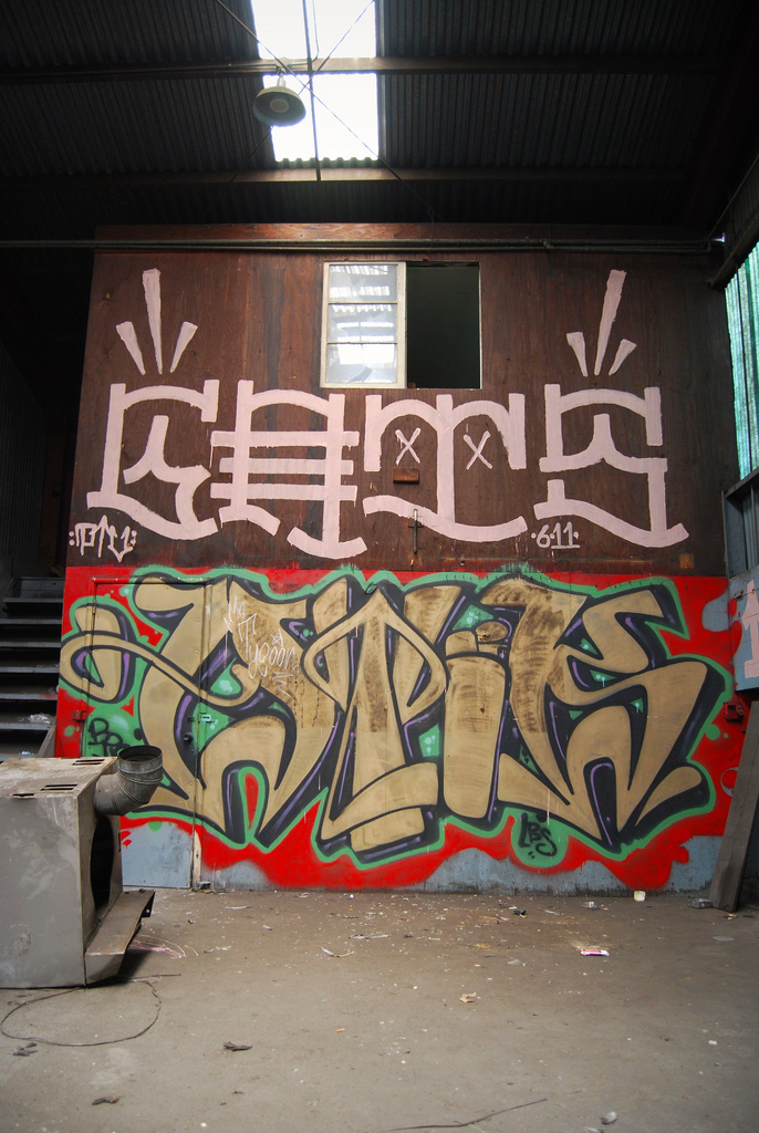 GATS Atik Graffiti Bay Area.