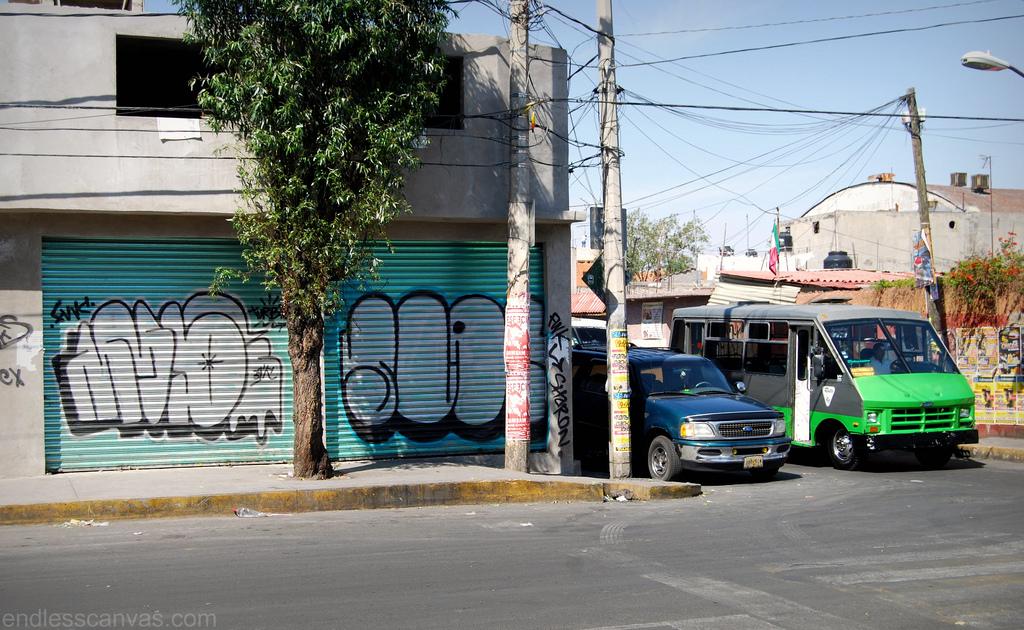 Slak Graffiti Mexico City DF