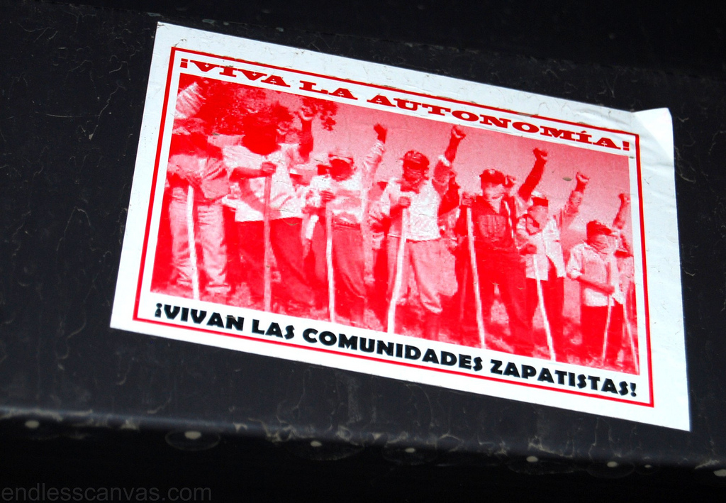 Zapatista Sticker.