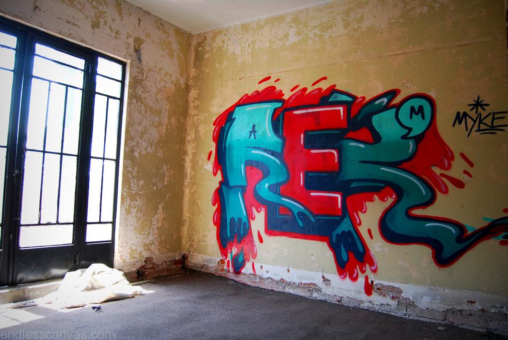 Rek Graffiti distrito federal.