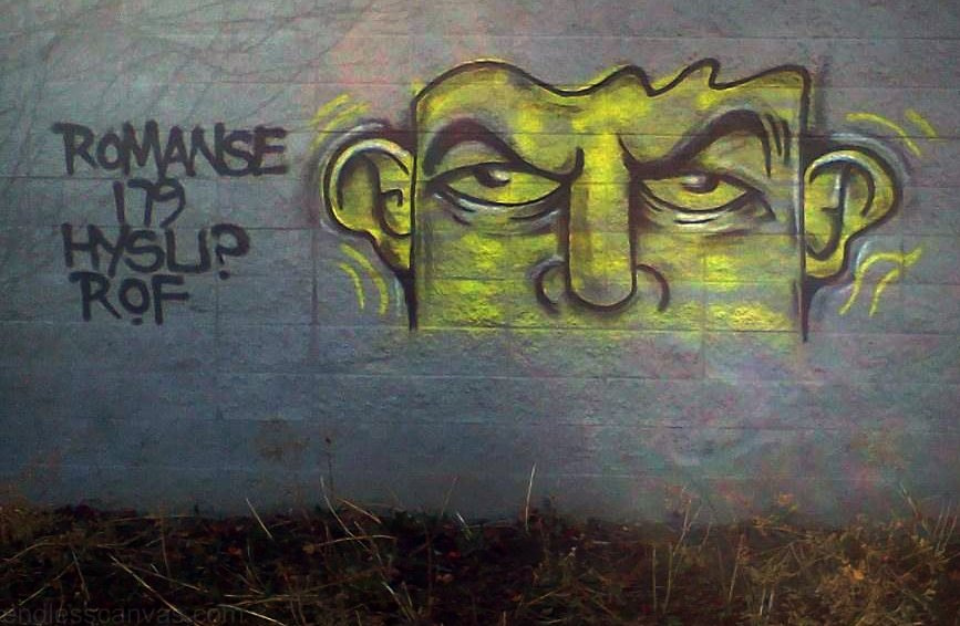Romanse HYSU Graffiti.