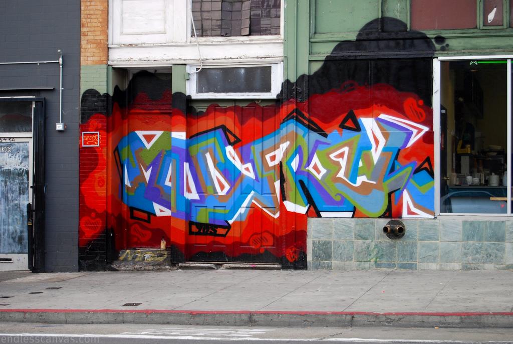 Mad Fresh Graffiti San Francisco.