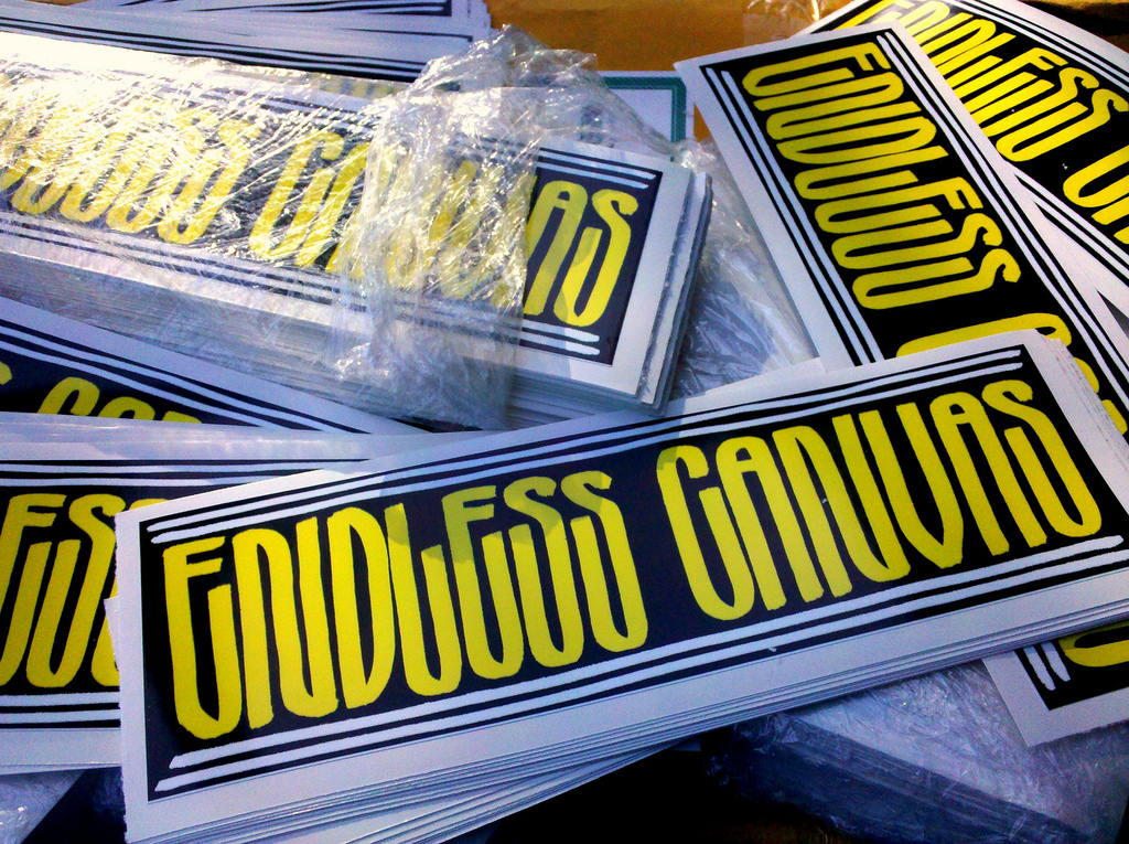 Endless Canvas Graffiti Sticker Packs for Sale.