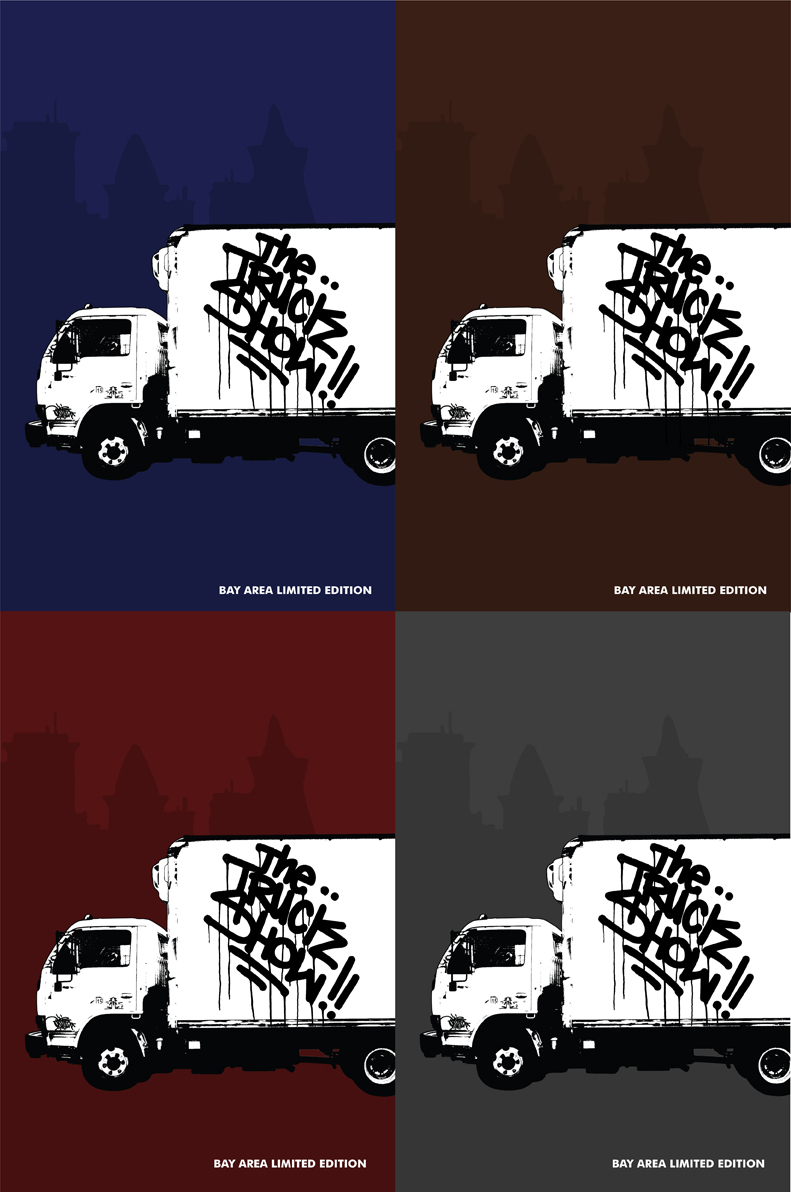 The Truck Show SF Official Limited Edition Zine.