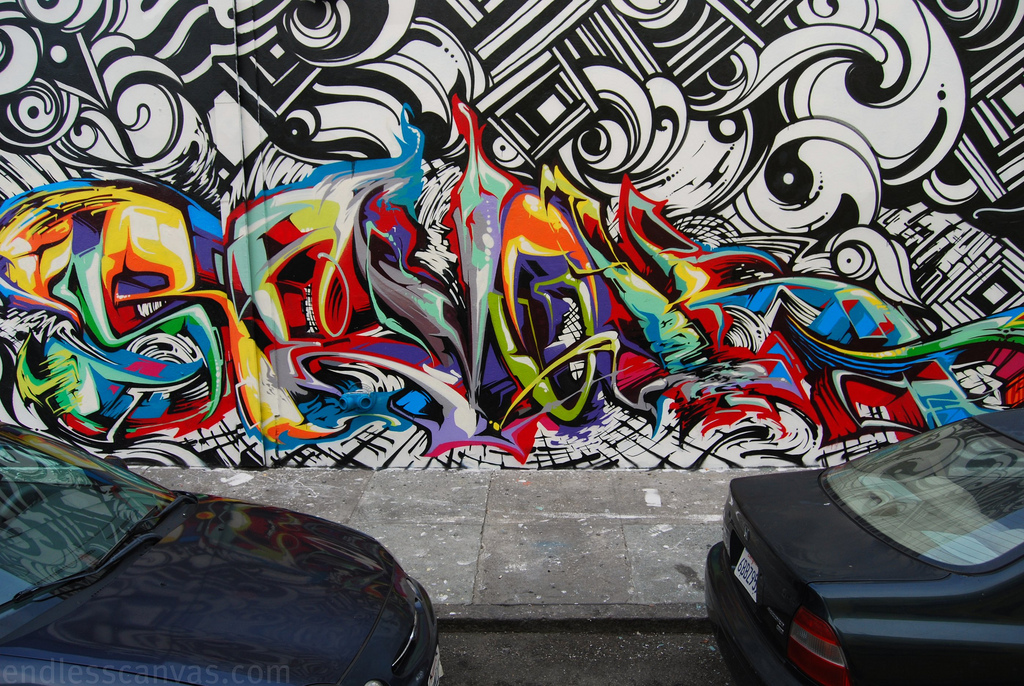 Revok MSK Graffiti San Francisco. 