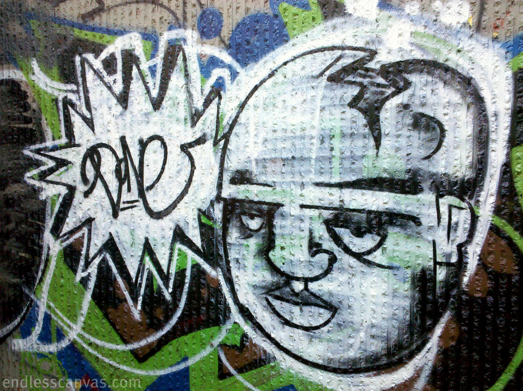 Done Graffiti Character Oakland CA.