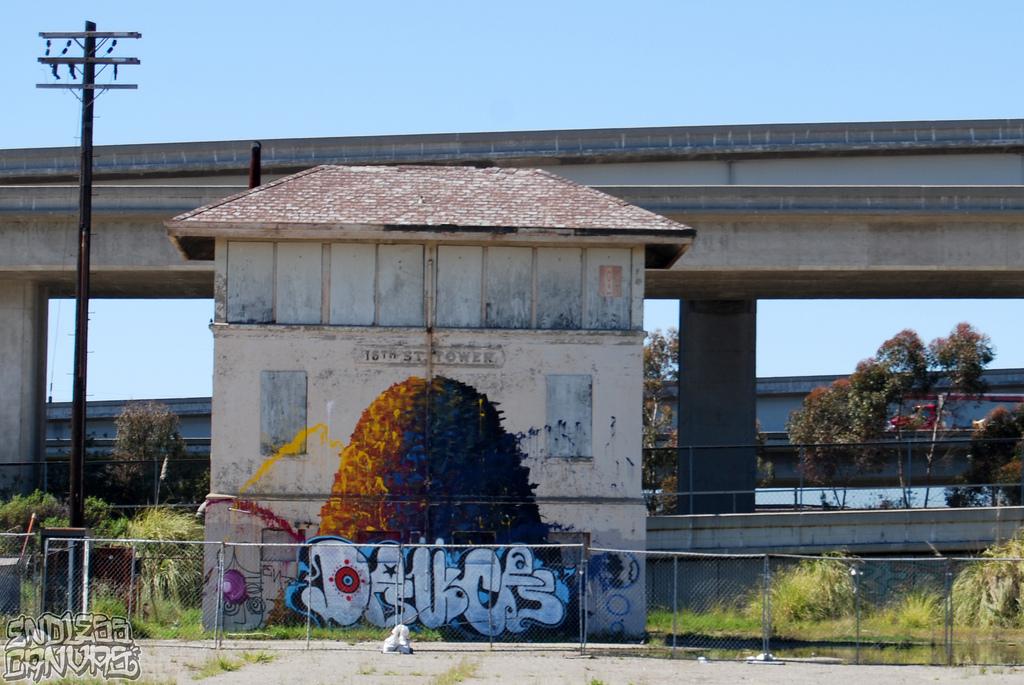 Deuce 7 Graffiti Oakland CA.
