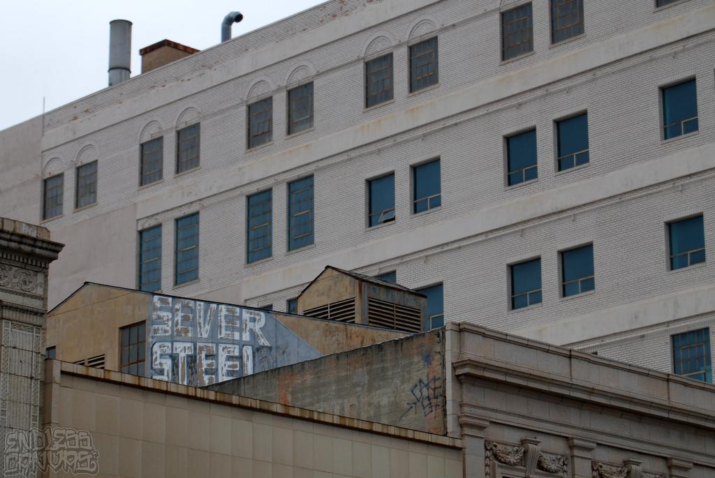 Sever Steel Graffiti Oakland CA.