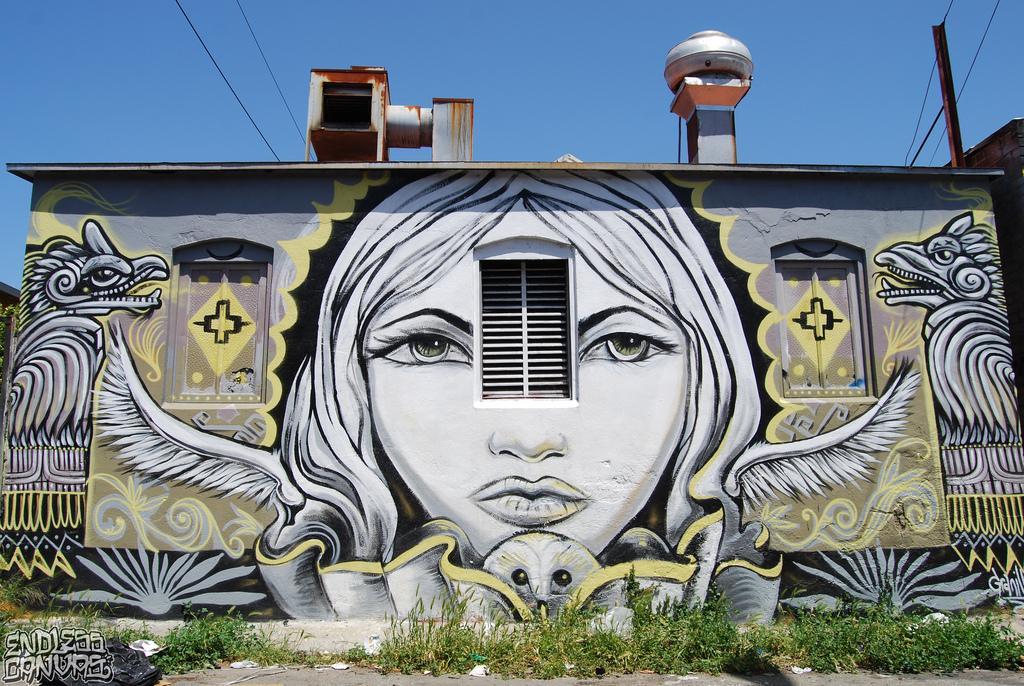 Granilla Mural Oakland California.