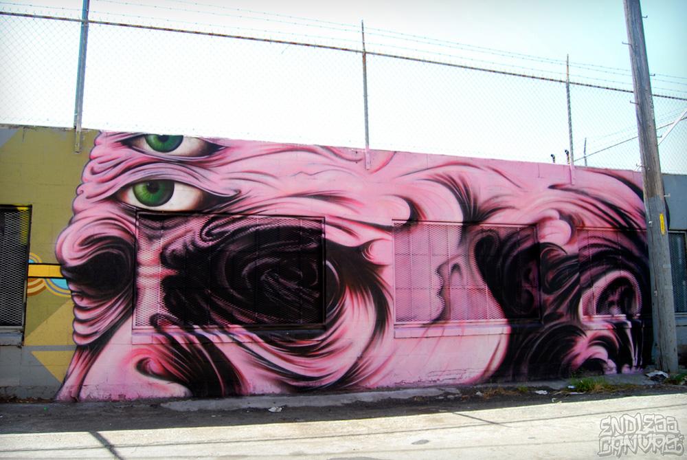 Ernest Doty Mural Oakland Street Art.