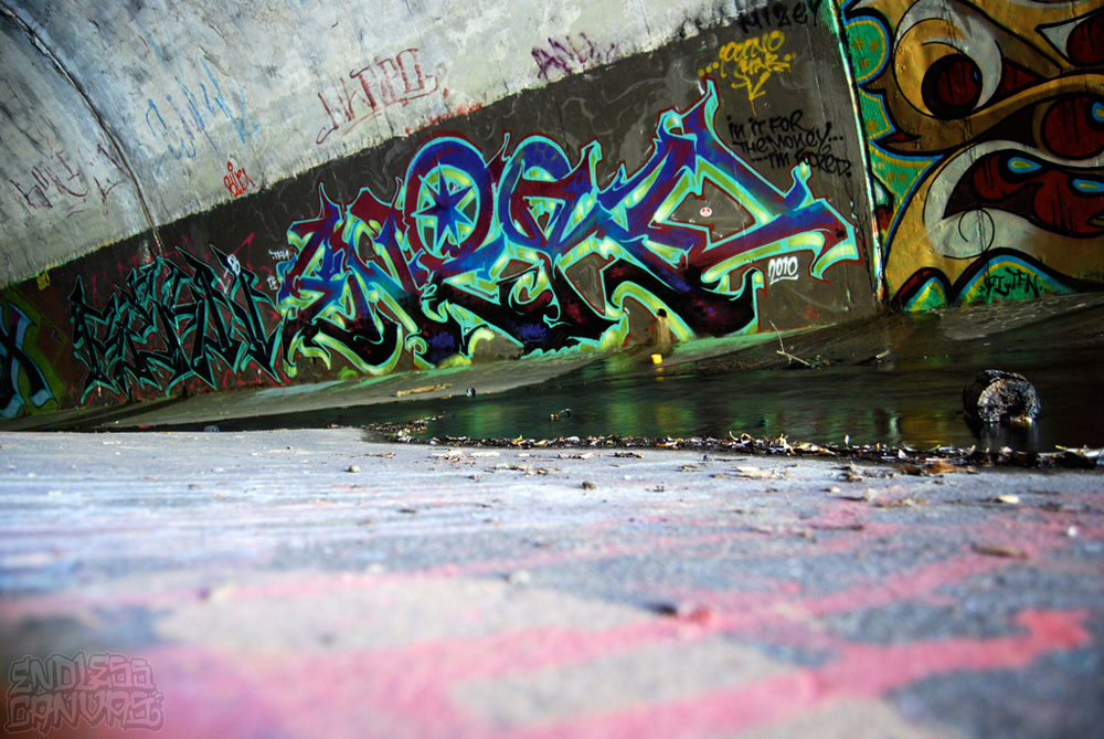 Enero Rekn Graffiti East Bay CA.