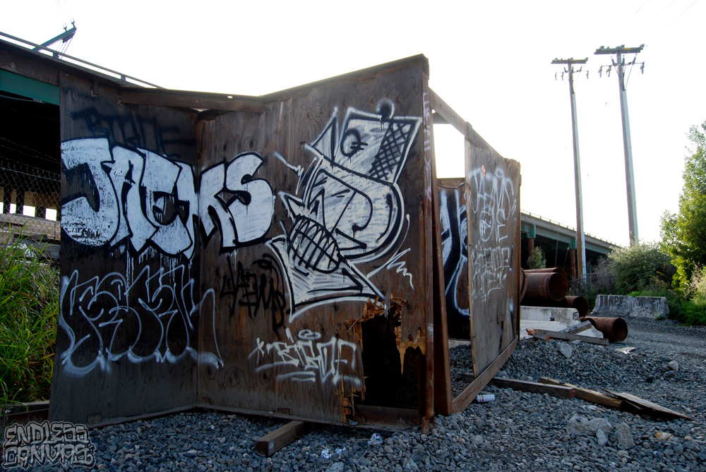 JAEMS Graffiti Oakland CA.