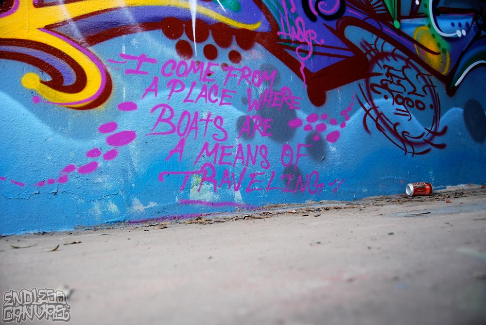 Lords Crew Graffiti San Francisco CA.
