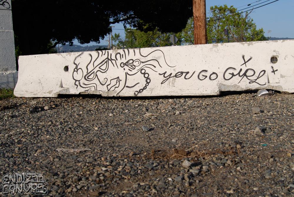 YOU GO GIRL - Oakland.