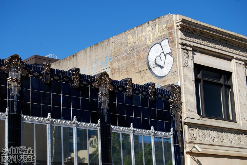 CAKE 87 Graffiti Oakland.