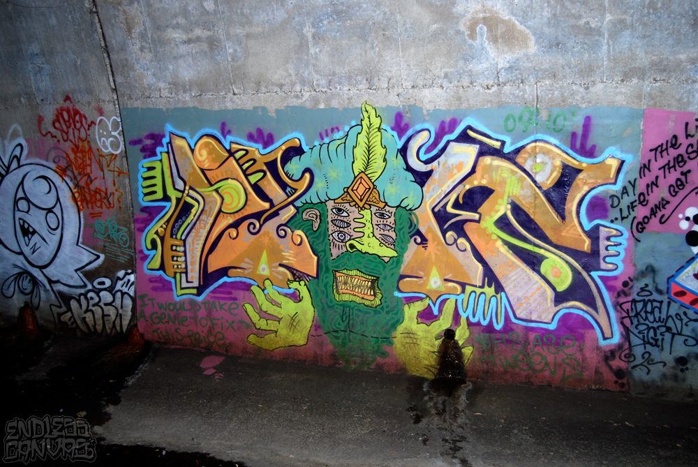 DIGIT Graffiti East Bay CA.