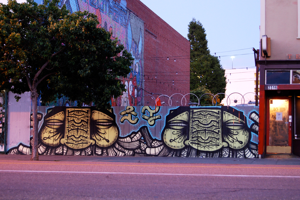 GATS Graffiti Oakland. 