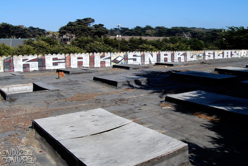 Reak Snarl Graffiti San Francisco.