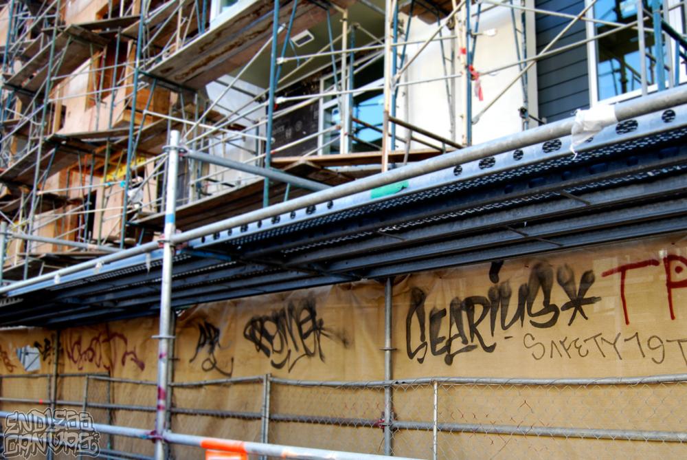 SERIUS Graffiti Oakland CA.