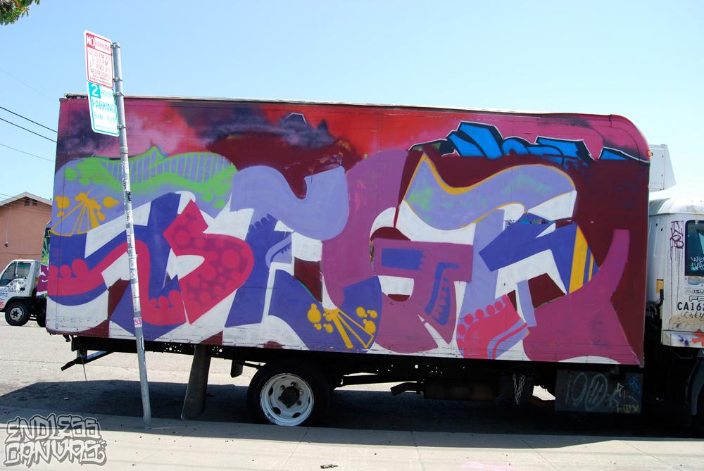 BEGR Graffiti Oakland.