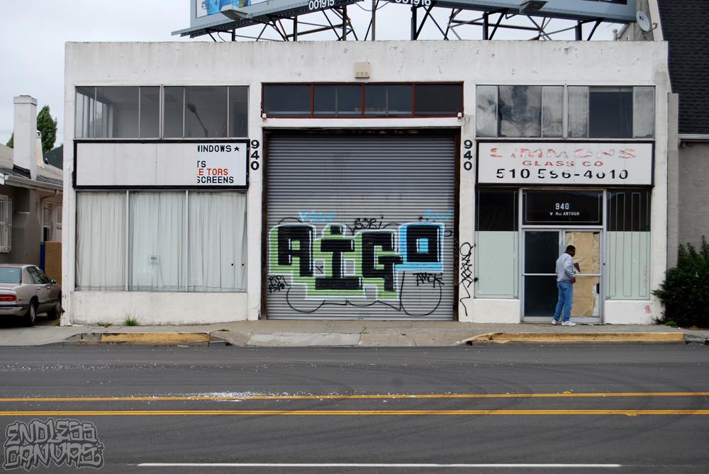 AIGO Graffiti Oakland CA.