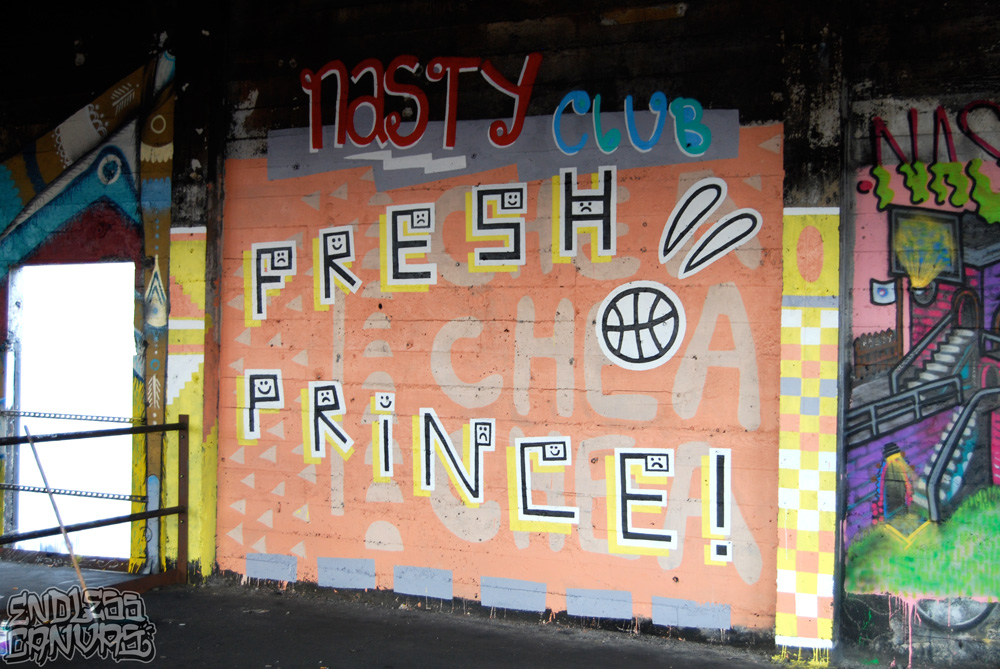 Fresh Prince Graffiti. 