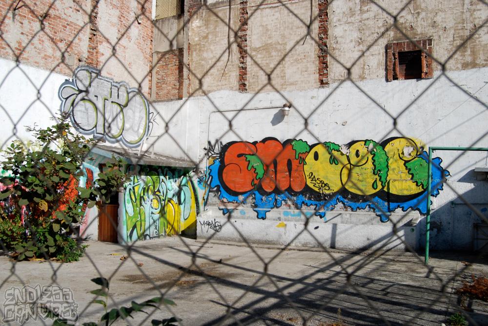 Smoge Mexico City Distrito Federal Graffiti.