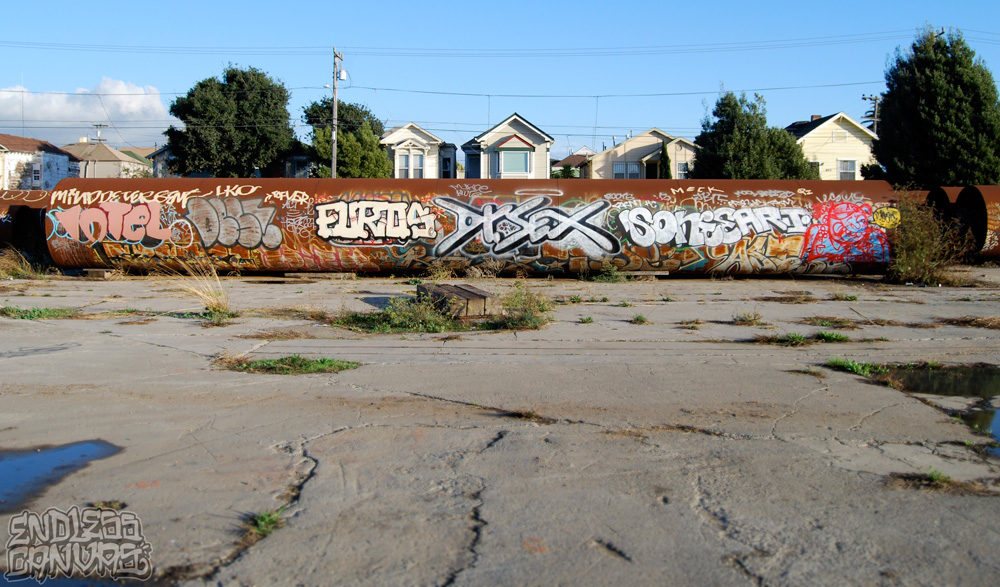EUROS DR SEX LEACH Graffiti East Bay CA.