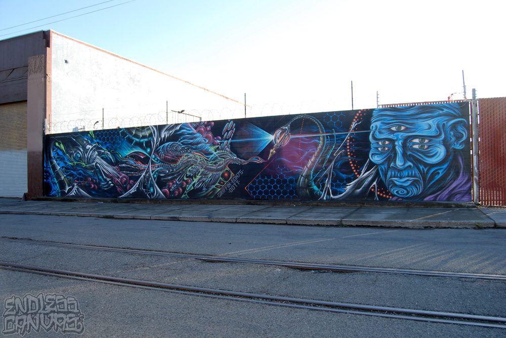 Griffin Eon 75 Ernest Doty Mural Oakland California.