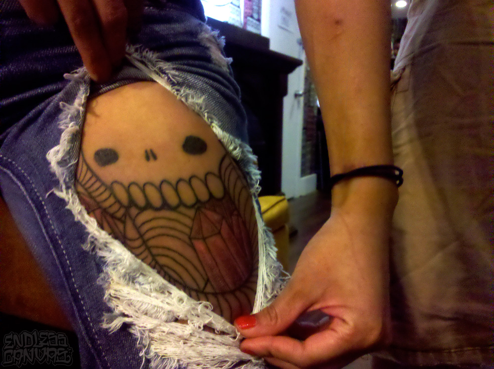 Swampy Tattoo.