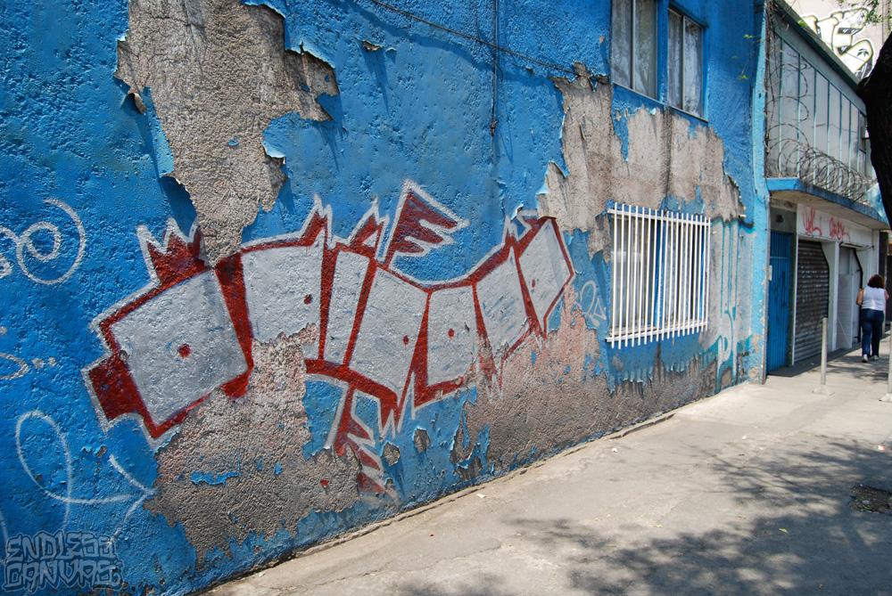 Graffiti Mexico City - Grafiti Distrito Federal.