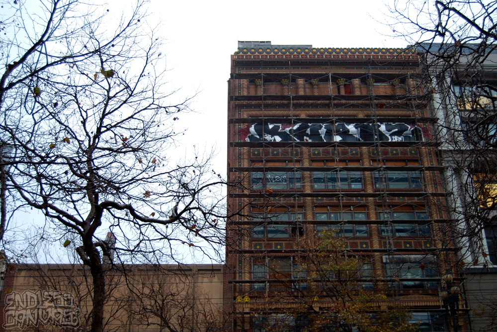 BTM DFM Graffiti San Francisco CA.